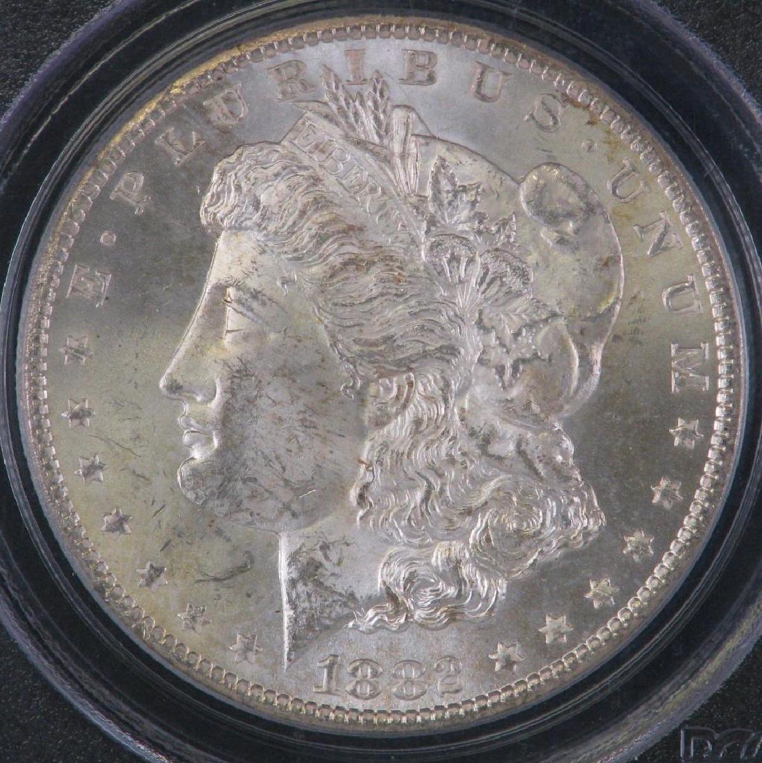 1882-CC Morgan Dollar PCGS MS64 - 3