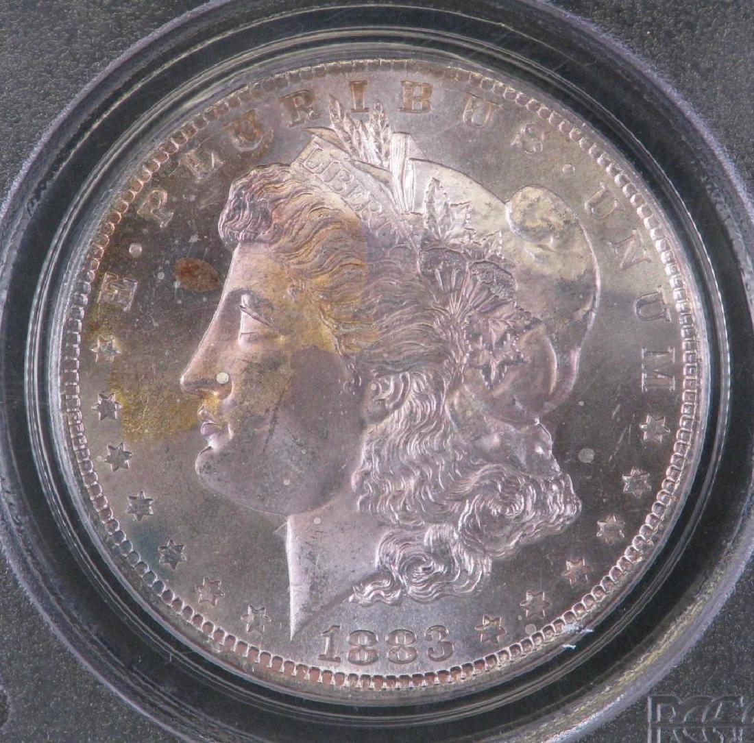 1883-CC Morgan Dollar PCGS MS64PL - 3