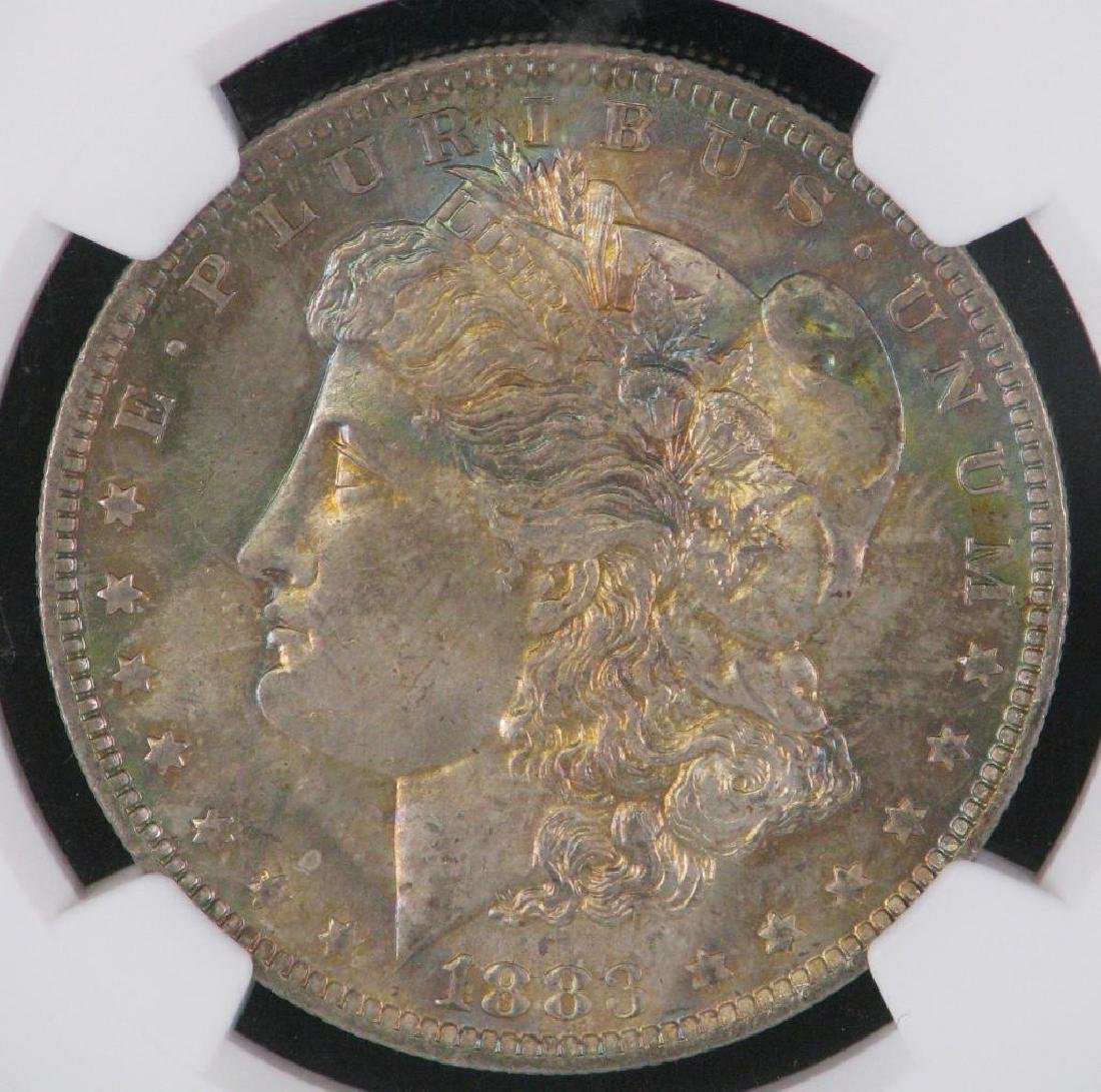 1883-O Morgan Dollar NGC MS65+ CAC - 3