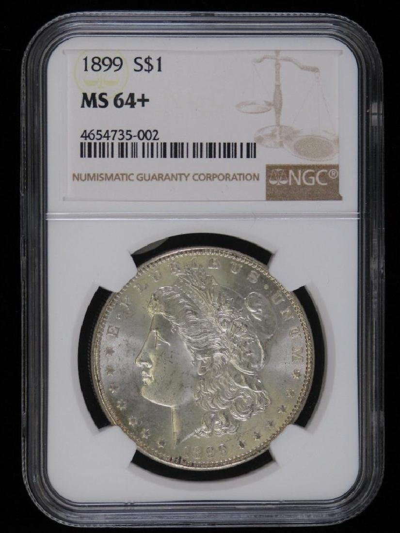 1899-P Morgan Dollar NGC MS64+