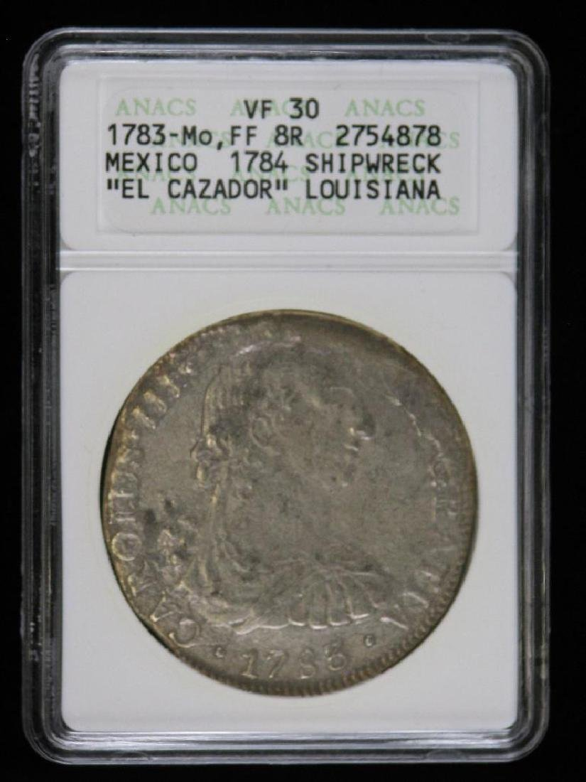 Mexico 1783-Mo FF 8 Reales