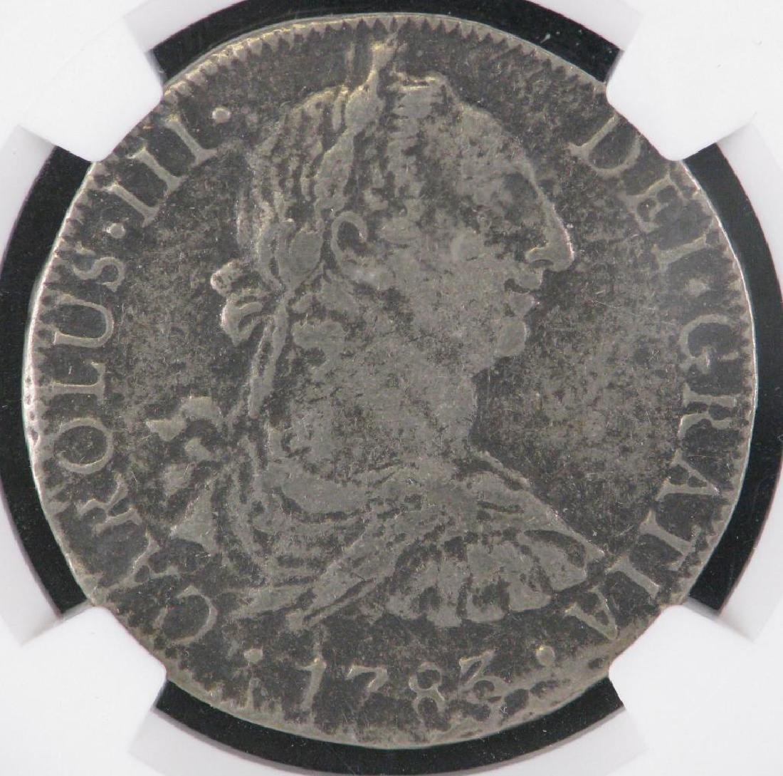 Mexico 1783-Mo FF 8 Reales - 3