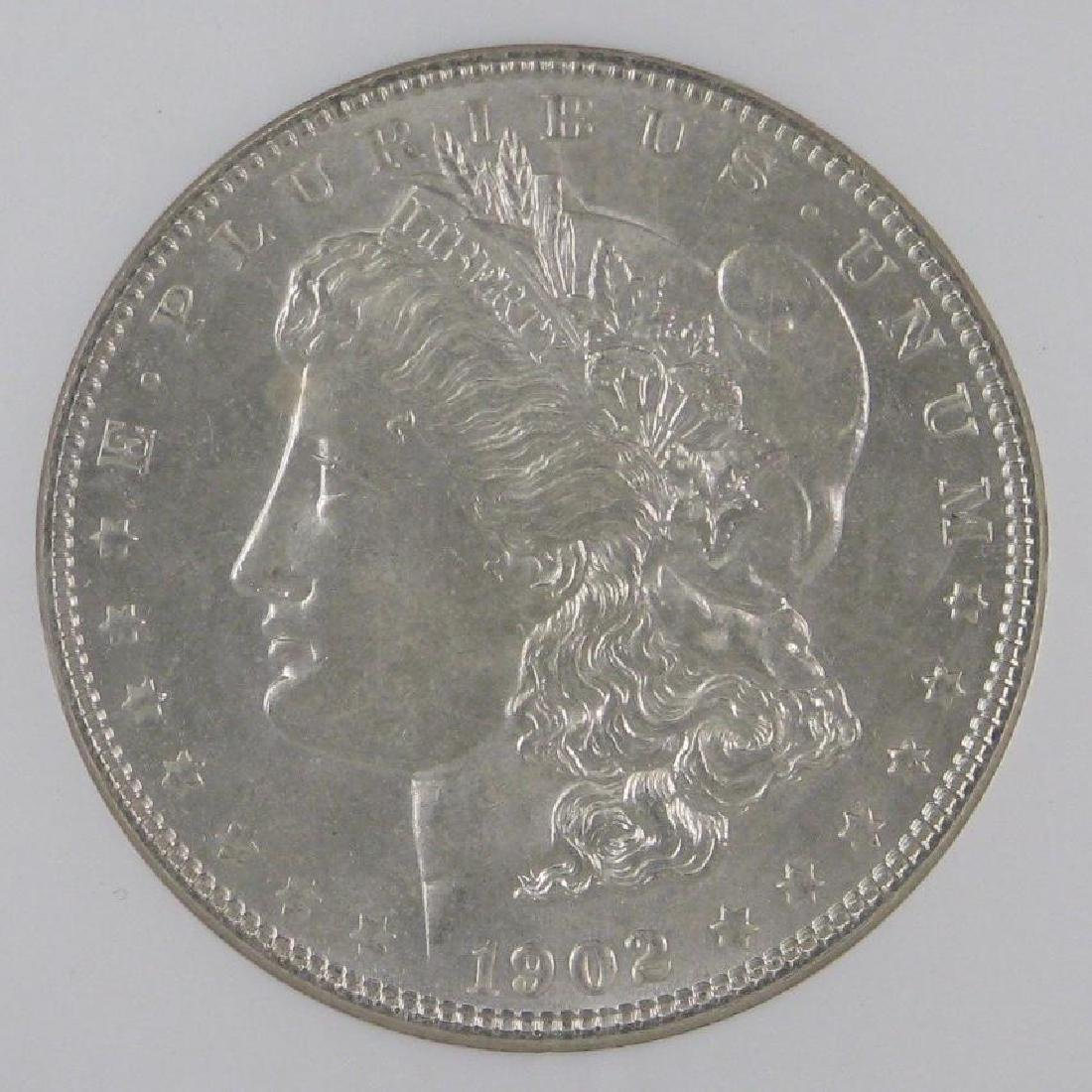 1902-PÊMorgan Dollar NGC MS63 - 3