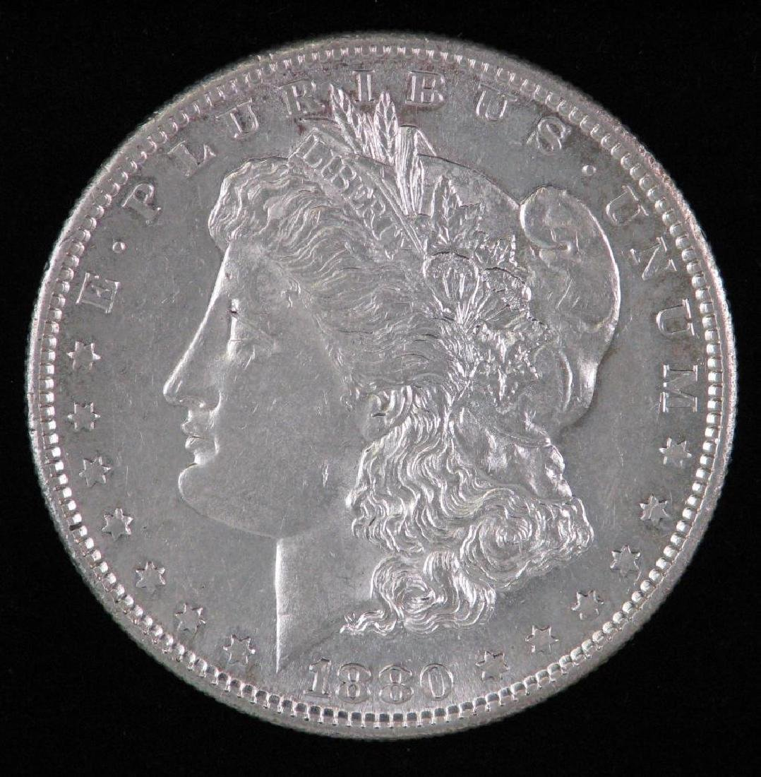 1880-S Morgan Dollar