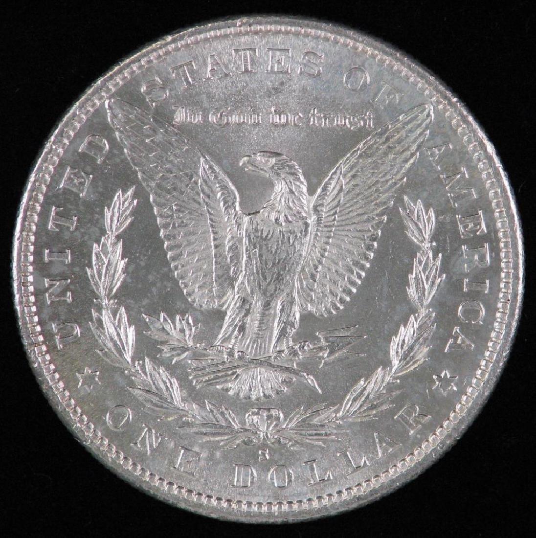 1880-S Morgan Dollar BU - 2