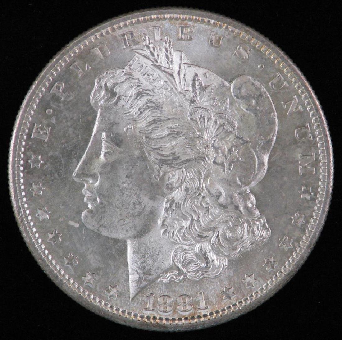 1881-P Morgan Dollar BU