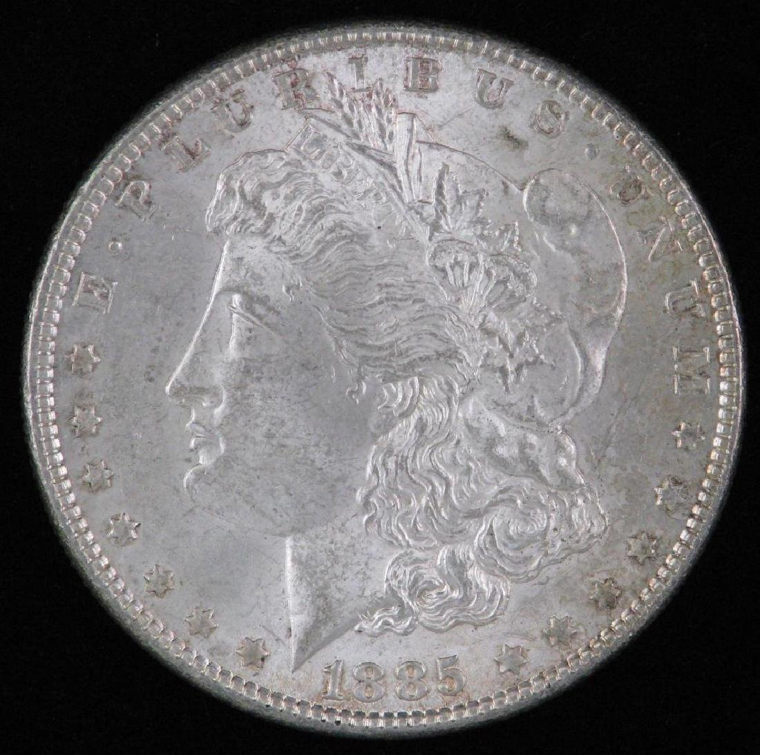 1885-P Morgan Dollar