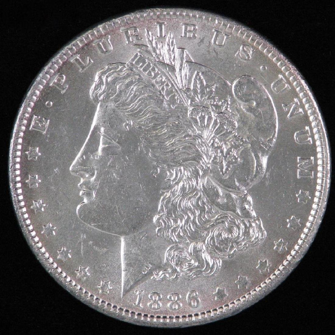 1886-P Morgan Dollar