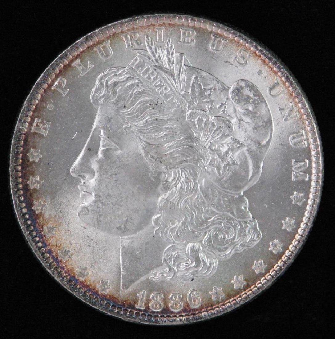1886-P Morgan Dollar Bu