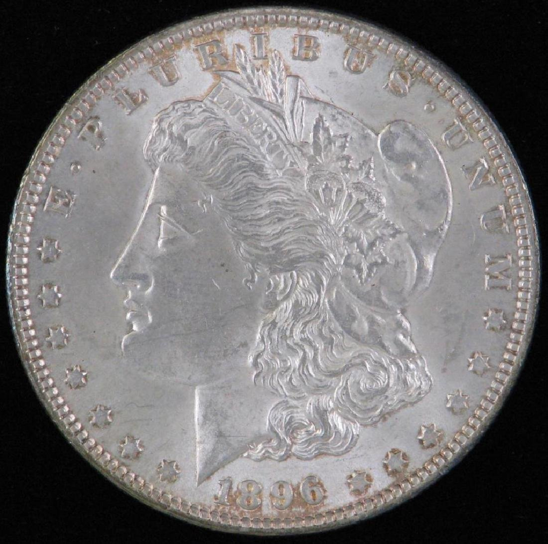 1896-P Morgan Dollar BU