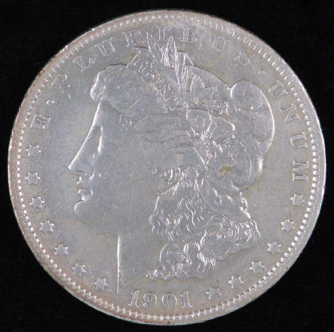 1901-P Morgan Dollar