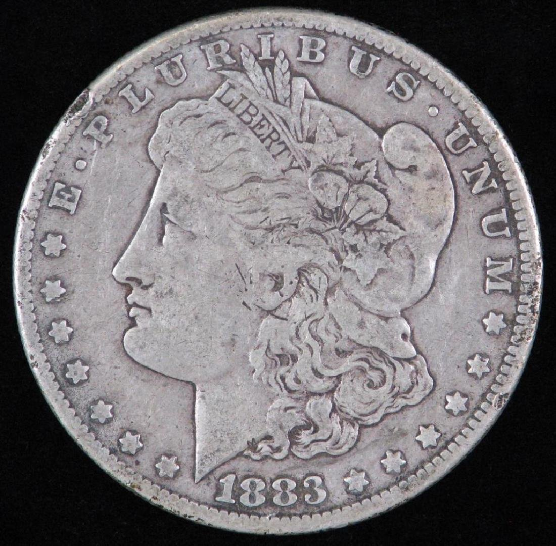 1883-CC Morgan Dollar