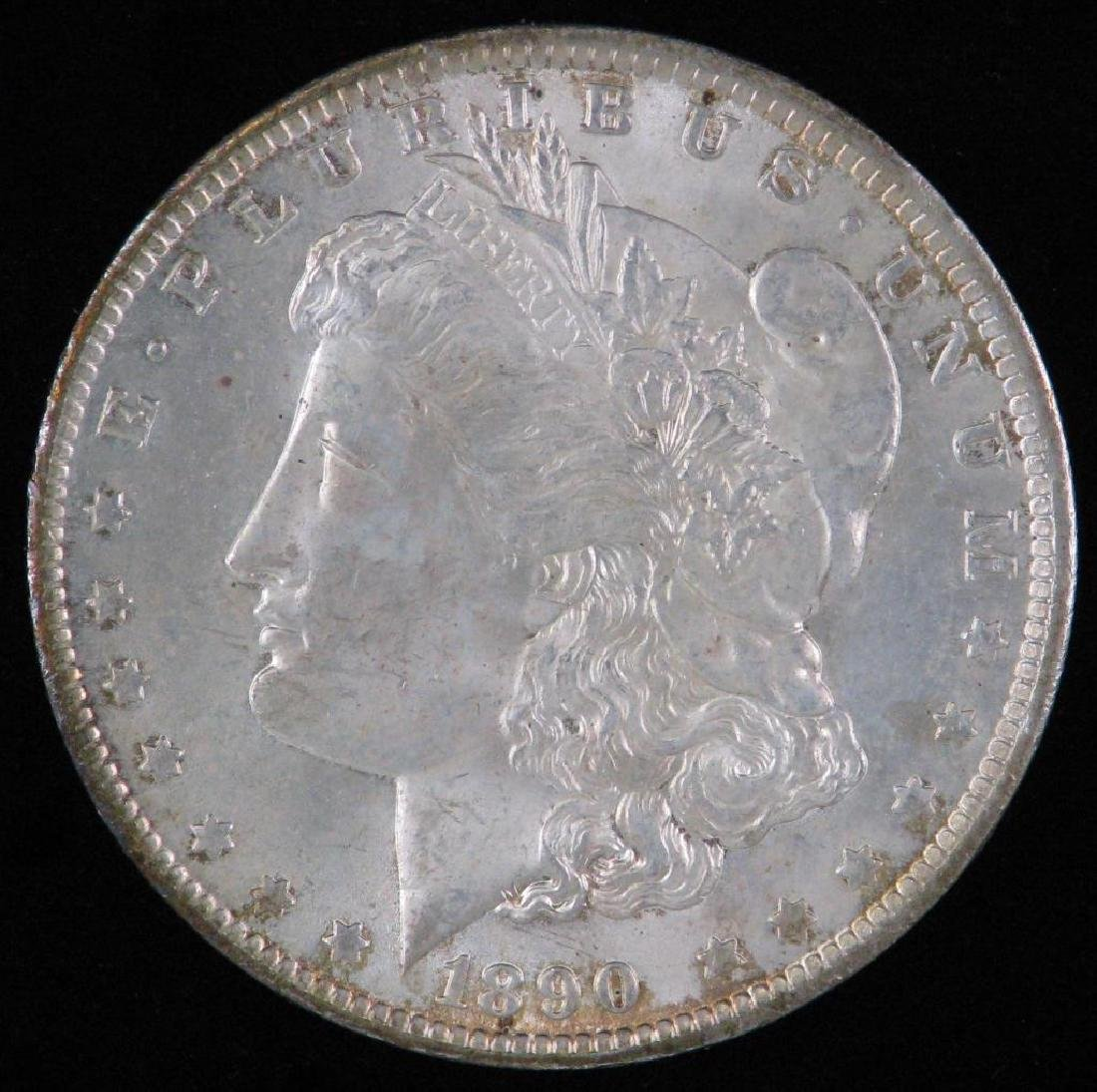 1890-O Morgan Dollar BU