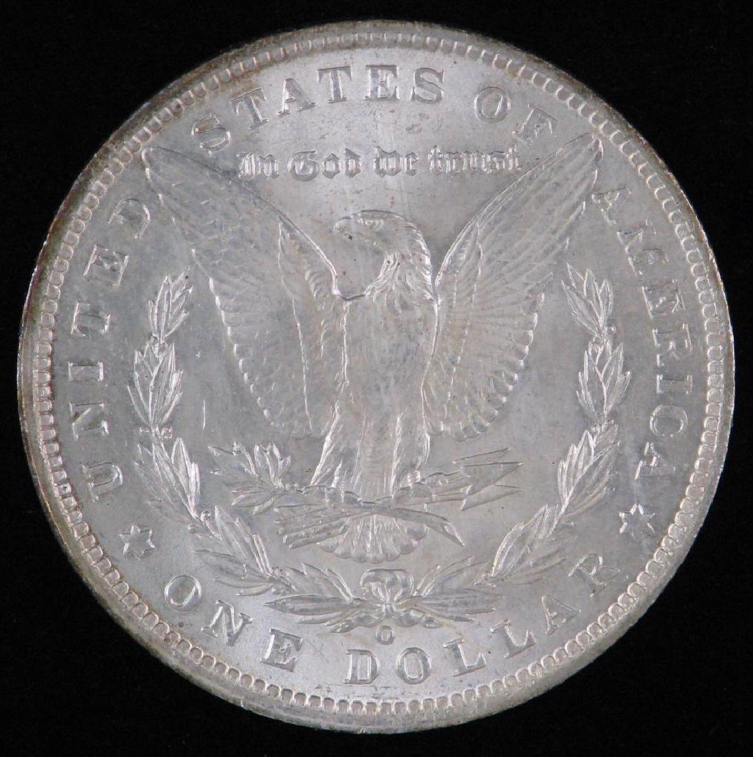 1890-O Morgan Dollar BU - 2