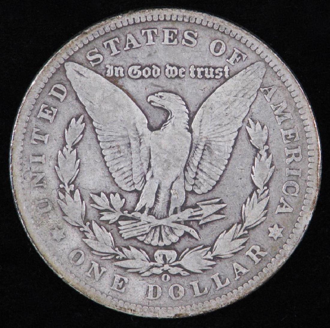 1893-O Morgan Dollar - 2