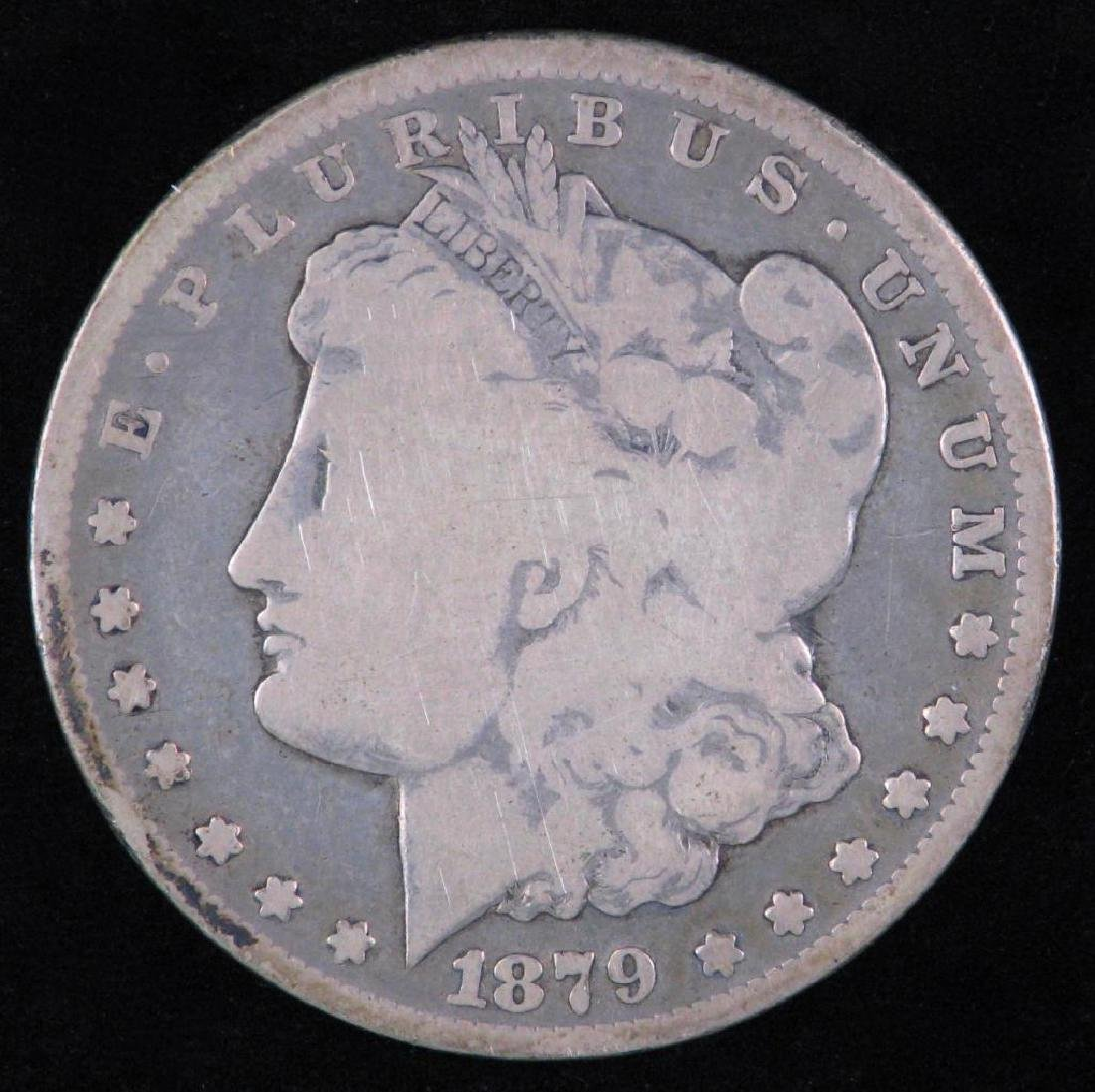 1879-CC Morgan Dollar