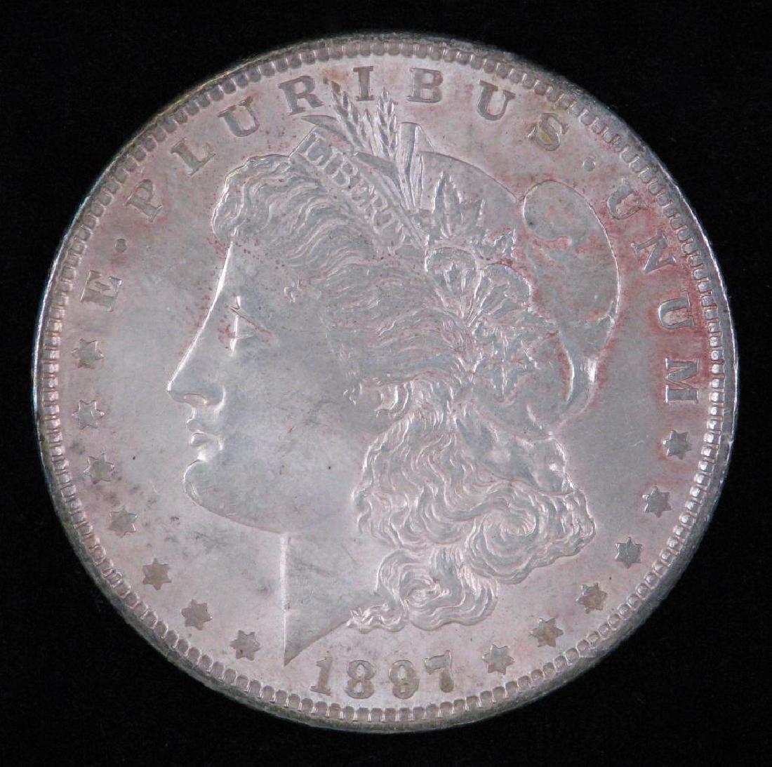 1897-P Morgan Dollar