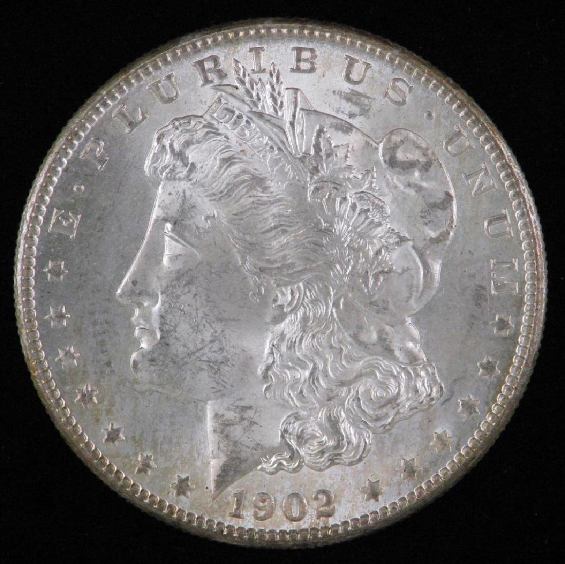 1902-O Morgan Dollar BU