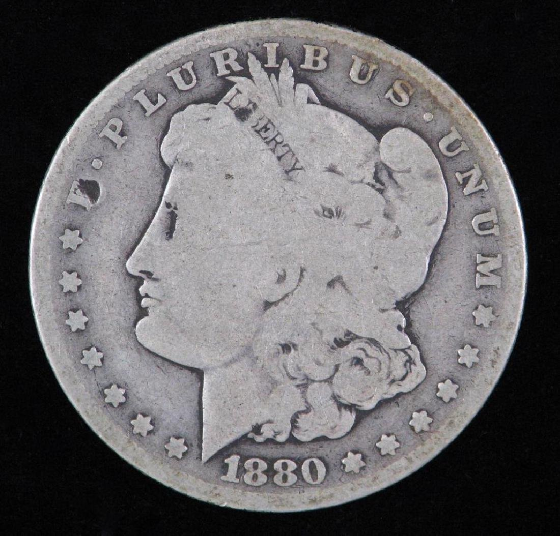 1880-CC Morgan Dollar