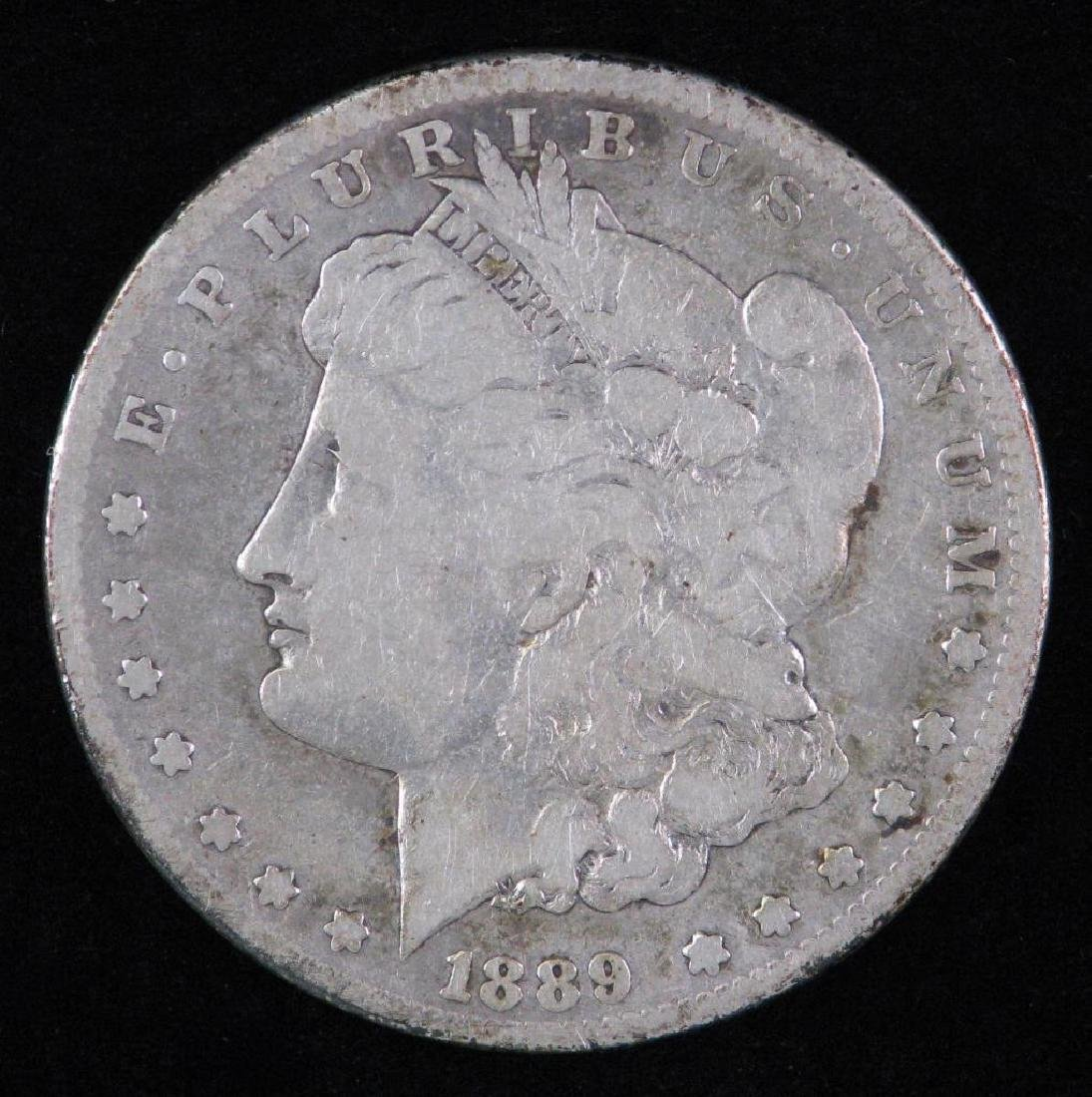 1889-CC Morgan Dollar