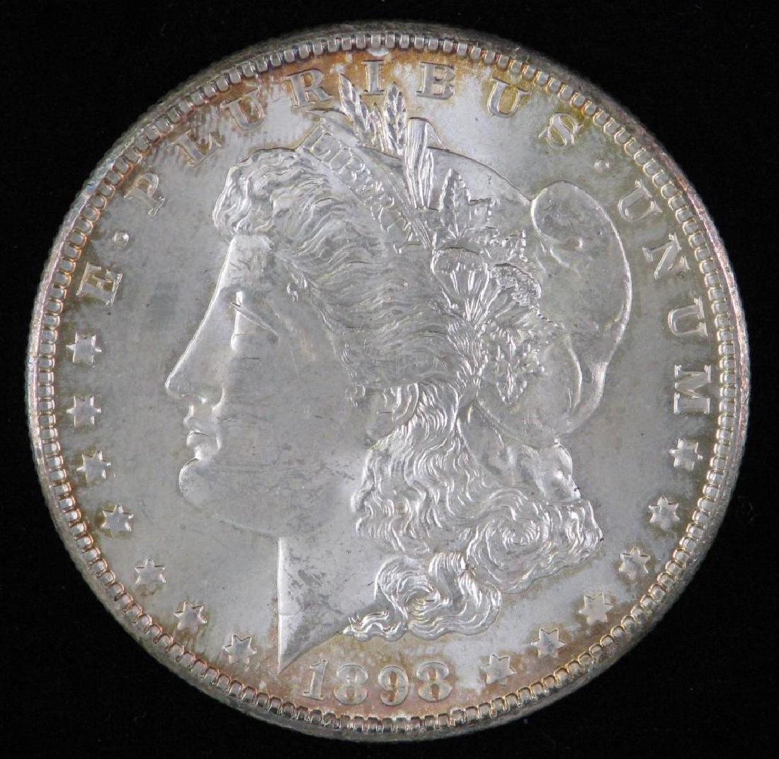 1898-O Morgan Dollar BU