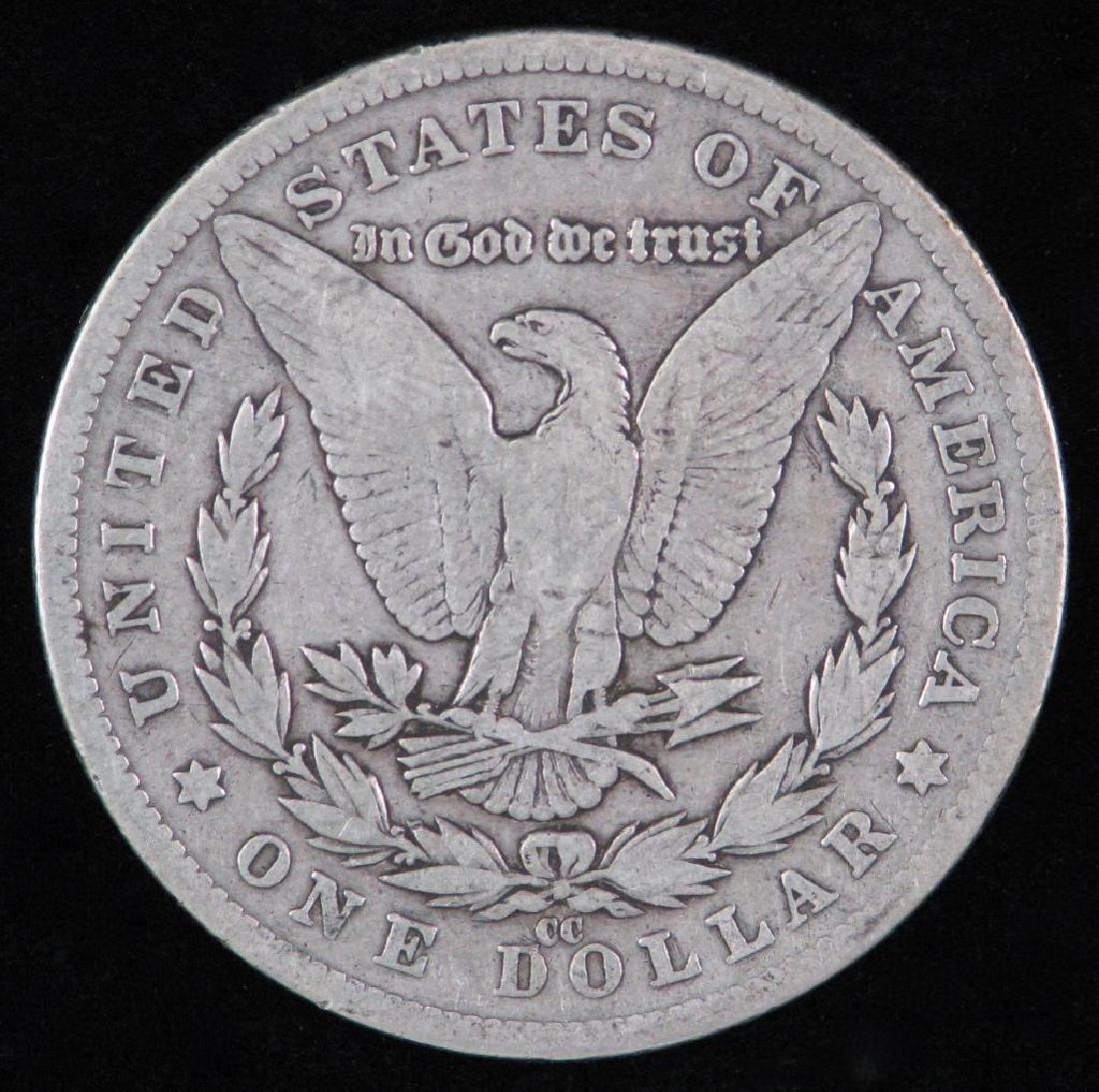 1881-CC Morgan Dollar - 2