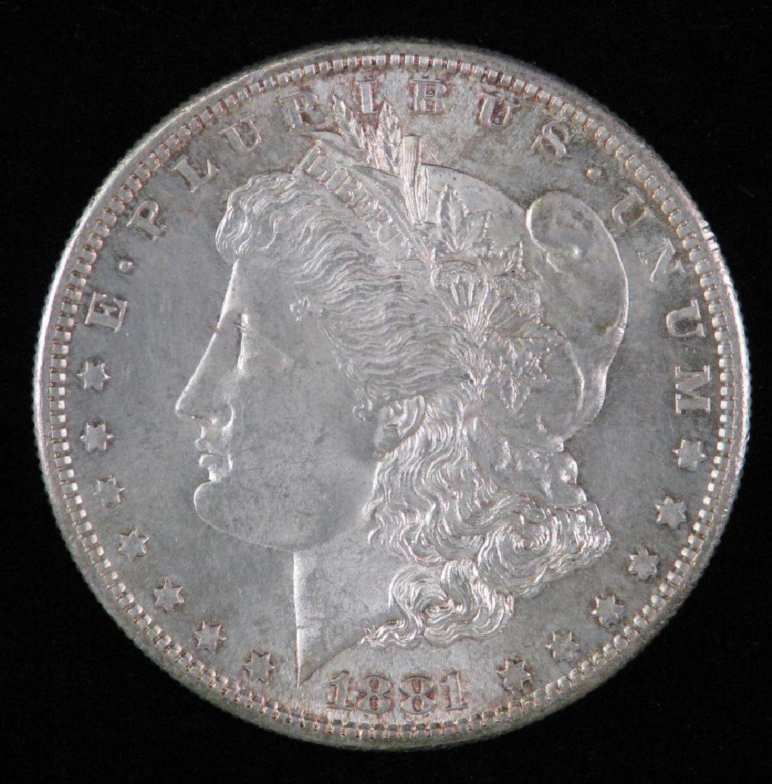 1881-S Morgan Dollar