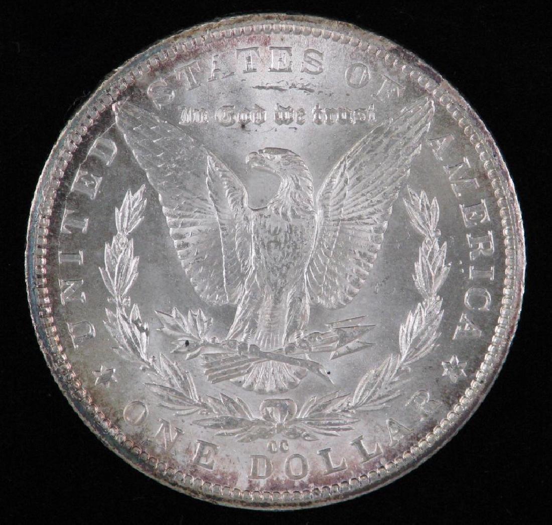 1885-CC Morgan Dollar BU - 2