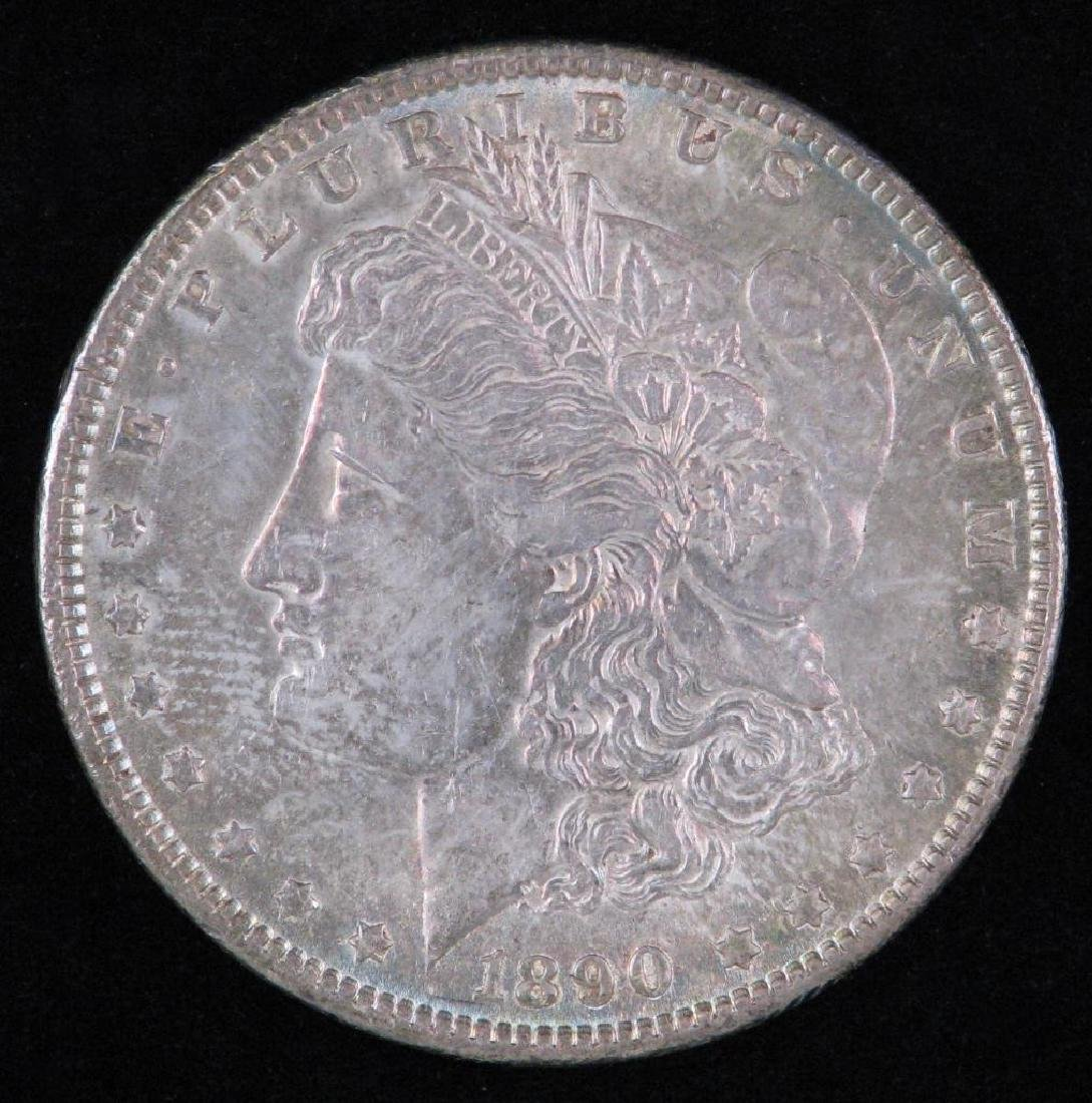 1890-P Morgan Dollar