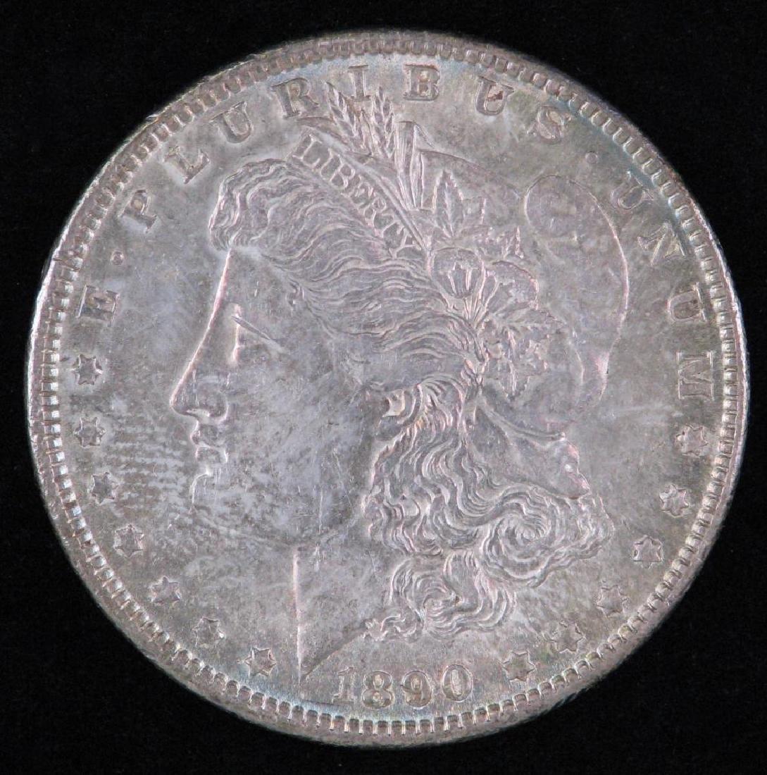 1890-P Morgan Dollar