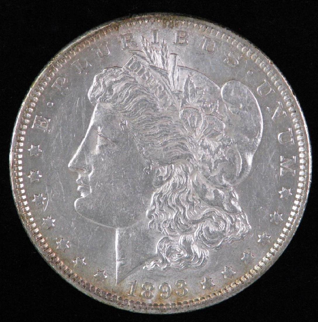 1893-P Morgan Dollar