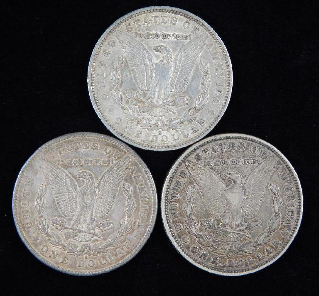 Lot of 3 : Morgan Dollars (1879) - 2