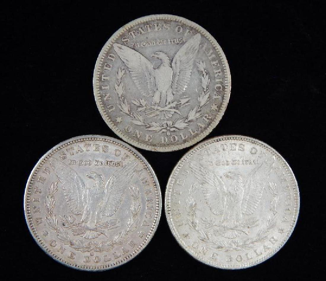 Lot of 3 : Morgan Dollars (1882) - 2