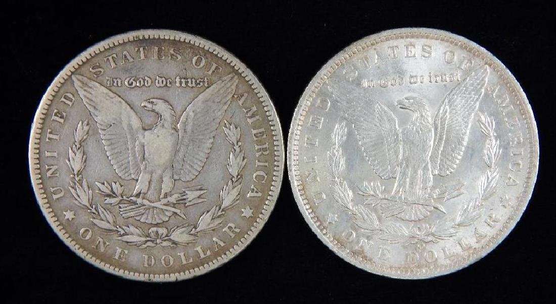 Lot of 2 : Morgan Dollars (1884-1885) - 2