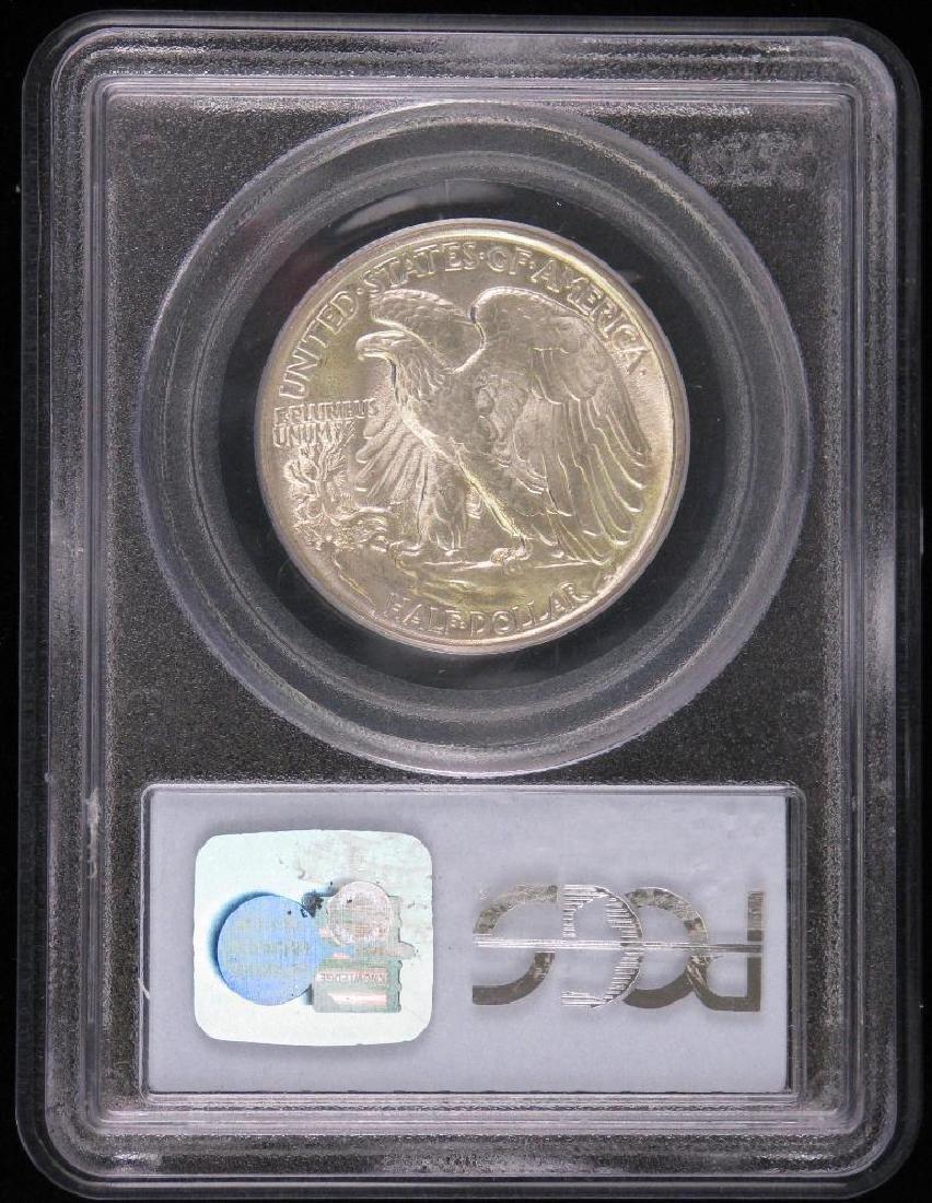 1943-P Walking Liberty Half Dollar - 2