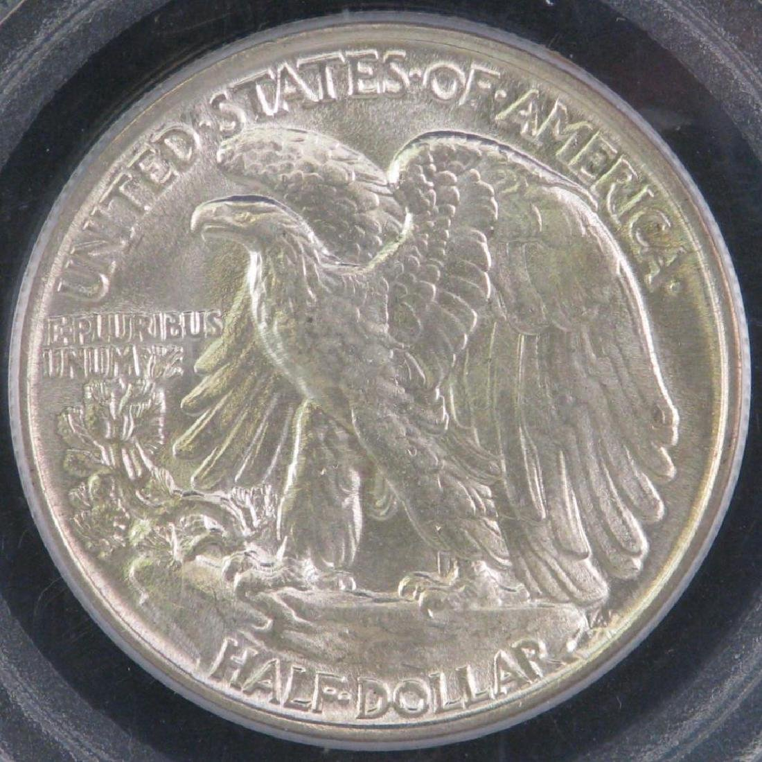 1943-P Walking Liberty Half Dollar - 4