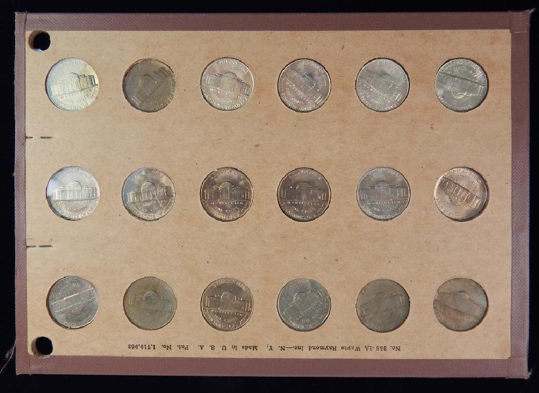 Jefferson Nickel Collection 1938-1953 BU - 3