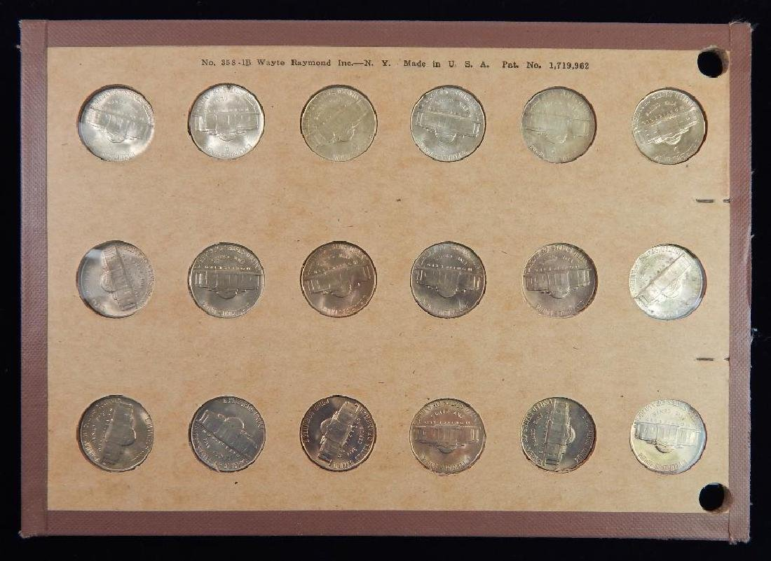 Jefferson Nickel Collection 1938-1953 BU - 5
