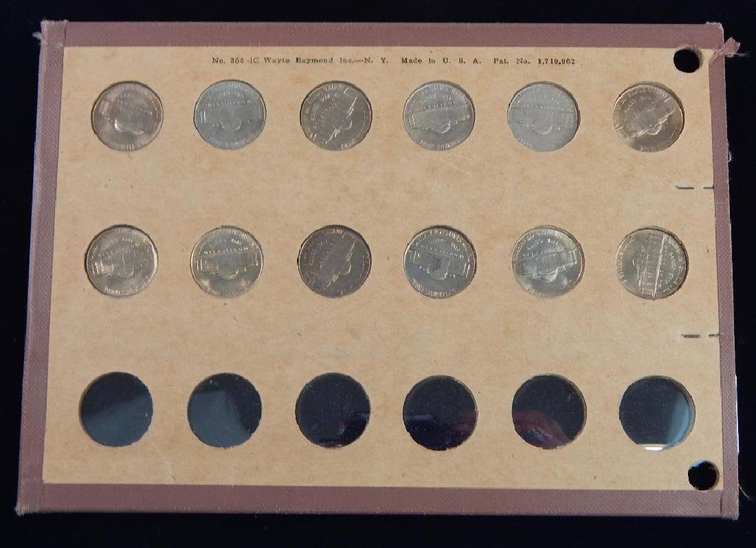 Jefferson Nickel Collection 1938-1953 BU - 7