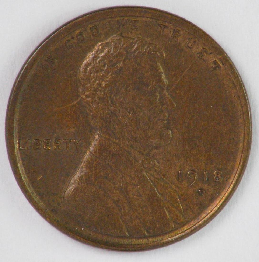1918-D Lincoln Cent