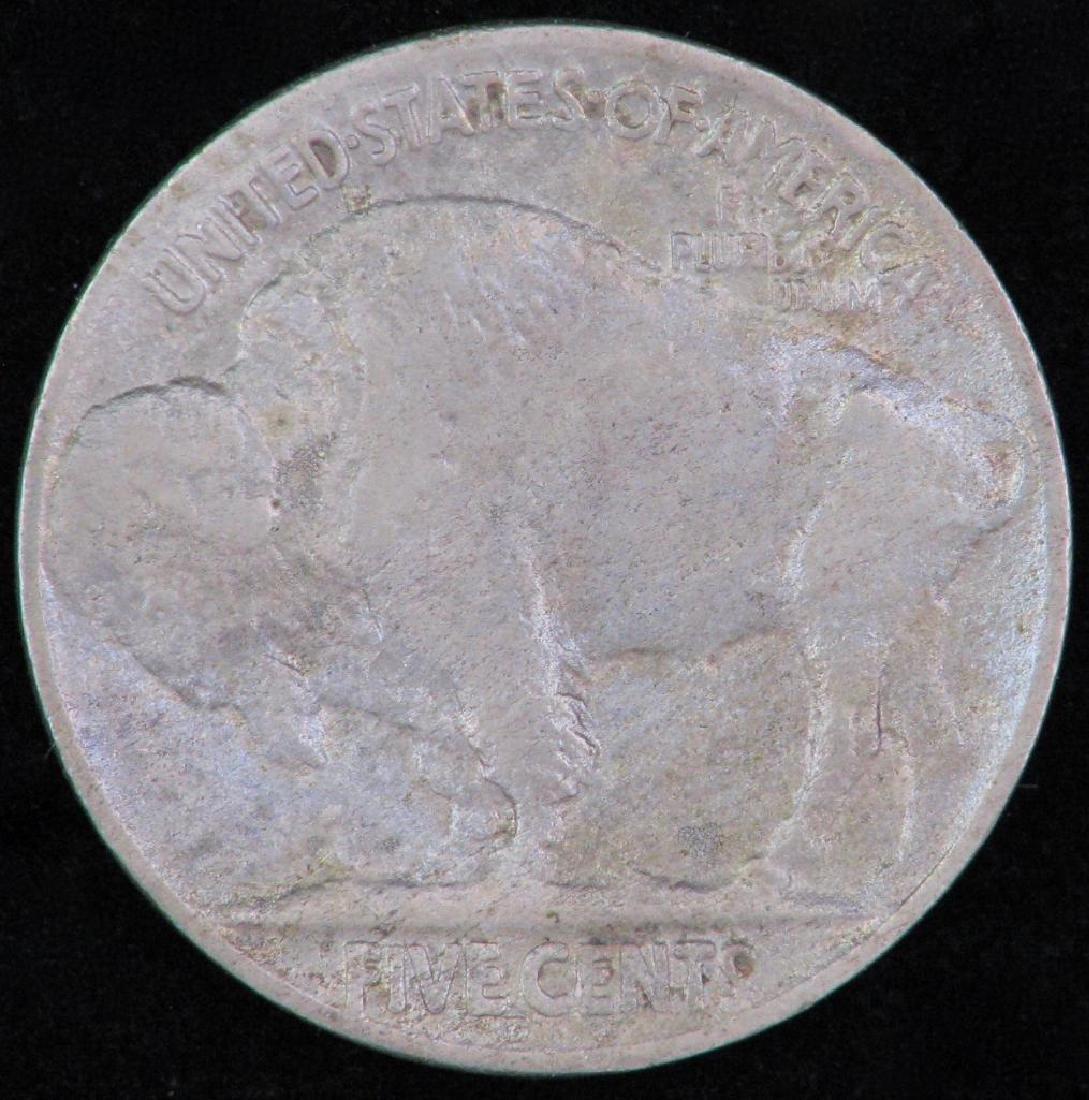 Lot of 2 coins : 1943-D Mercury Dime +1919-D Buffalo - 5