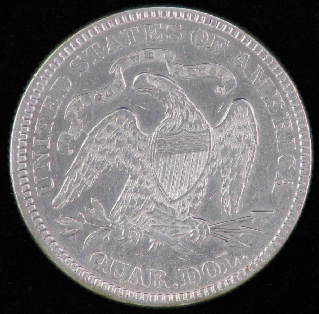1876-P Liberty Seated Quarter - 2