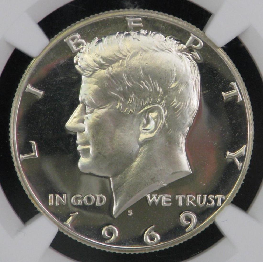 1969-S Kennedy Half Dollar - 3