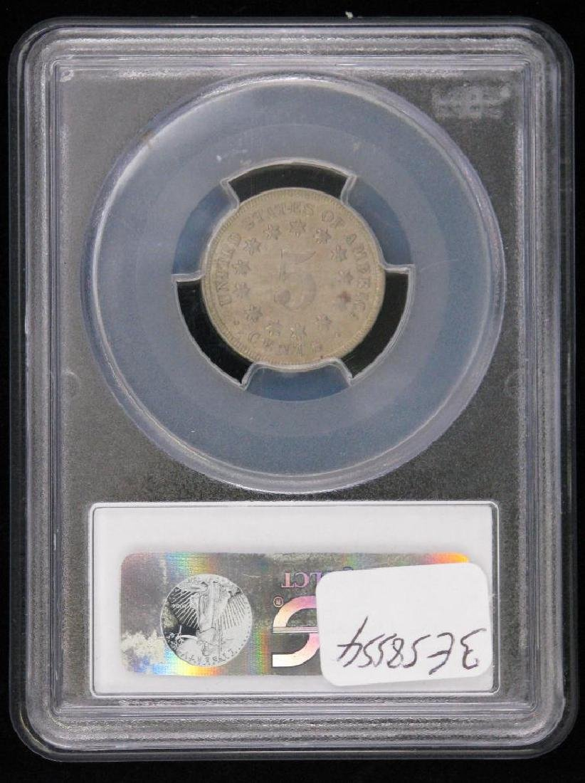 1869-P Shield Nickel - 2