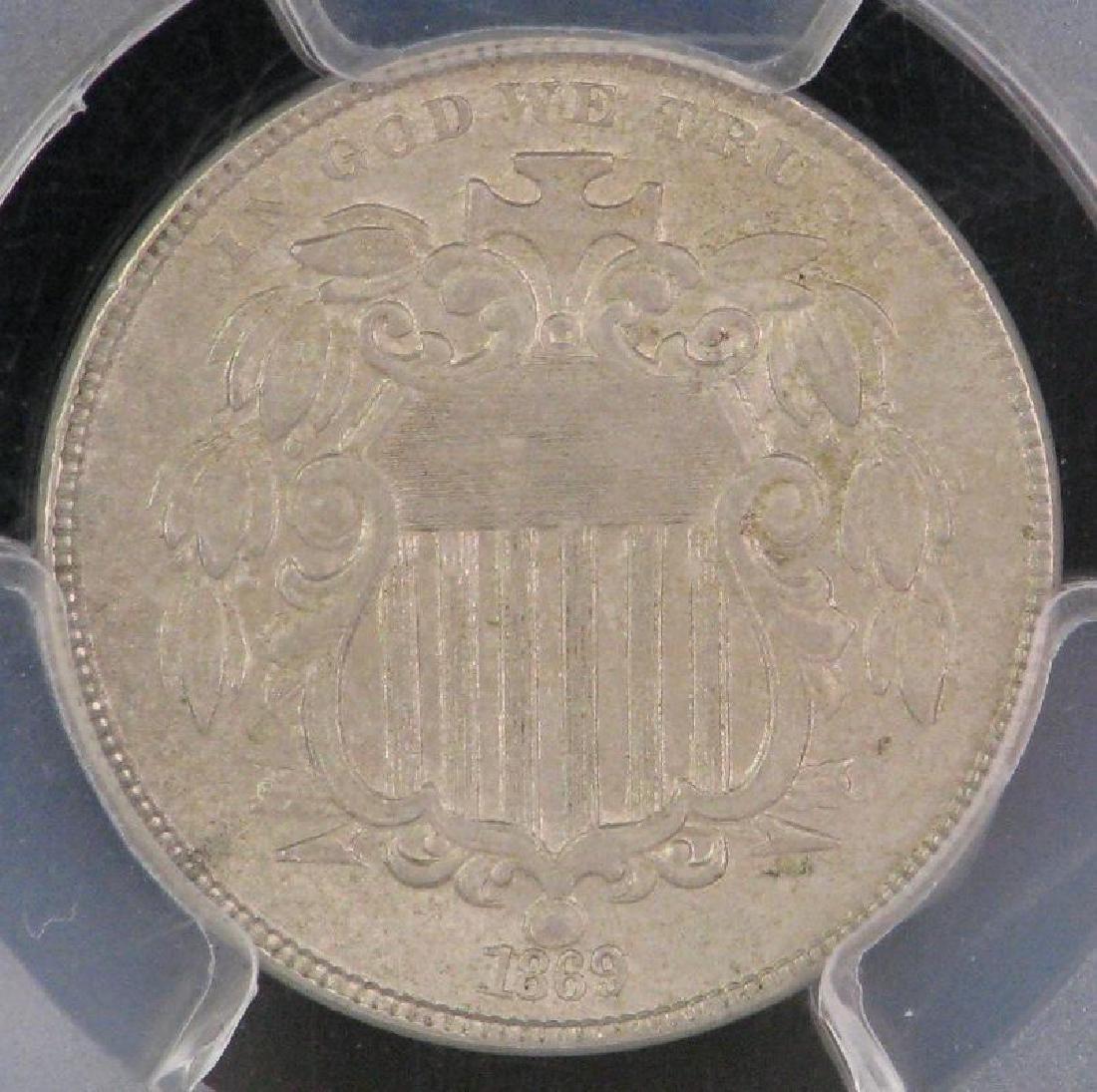 1869-P Shield Nickel - 3