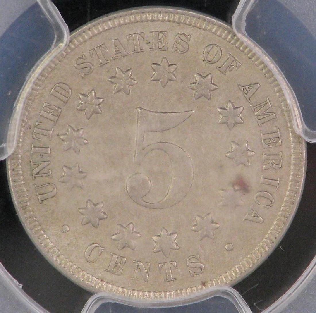1869-P Shield Nickel - 4