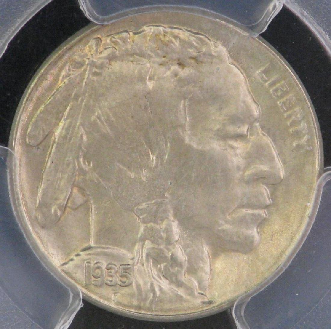 1935-S Buffalo Nickel - 3