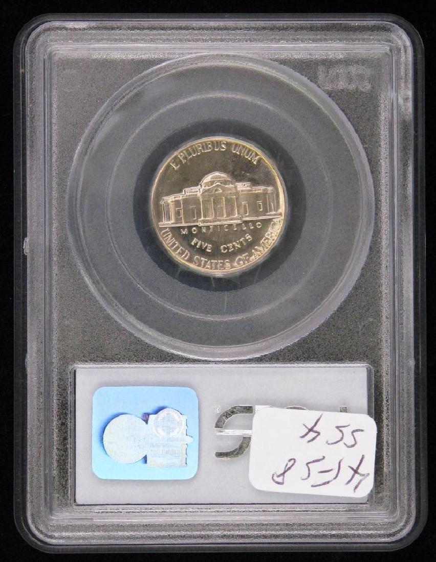 Lot of 2 : Jefferson Nickels (1950-P + 1965-P) - 3