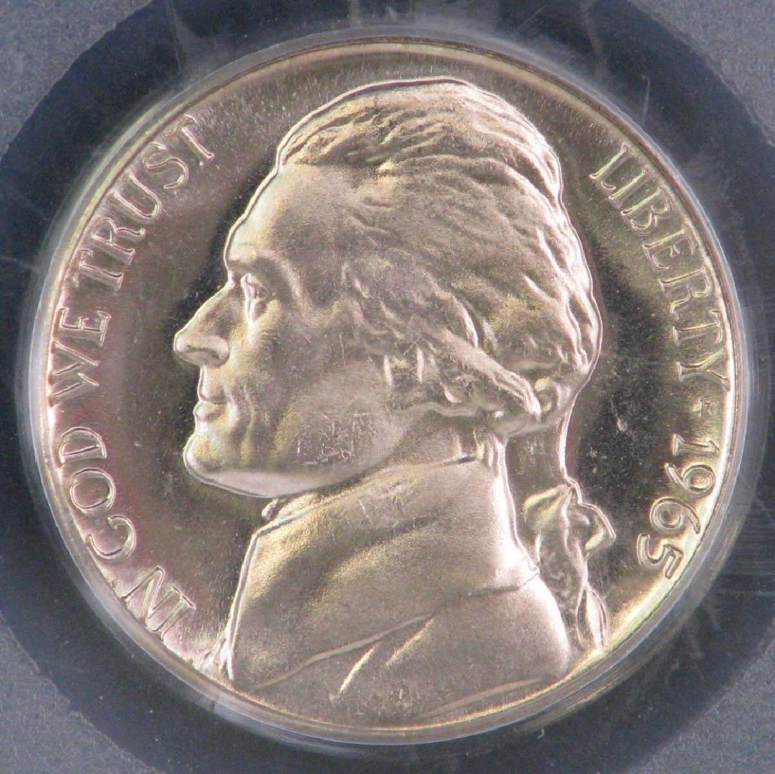 Lot of 2 : Jefferson Nickels (1950-P + 1965-P) - 4