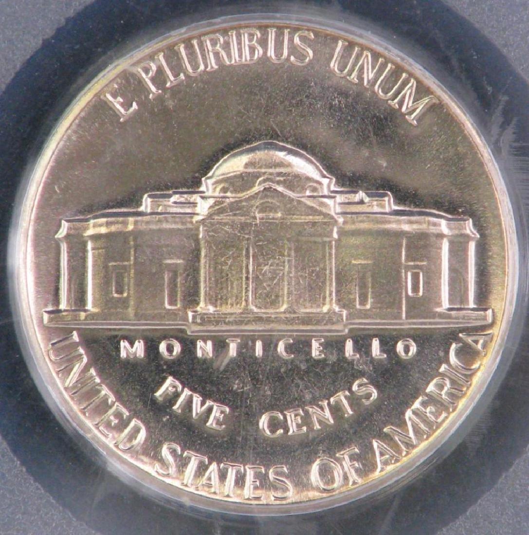 Lot of 2 : Jefferson Nickels (1950-P + 1965-P) - 5